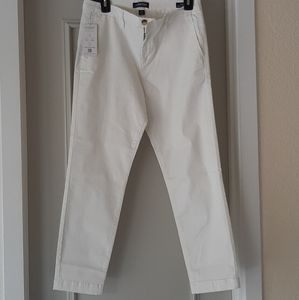 Nautica white ankle pants